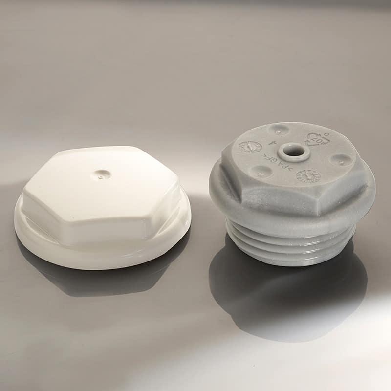 Bouchon radiateur électrique en plastique