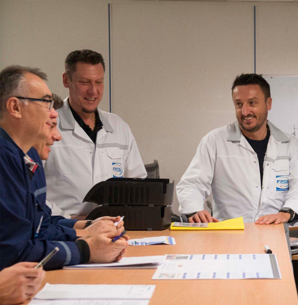 Développement de la société FPSA, spécialisée en injection plastique et fonderie zamak sous pression
